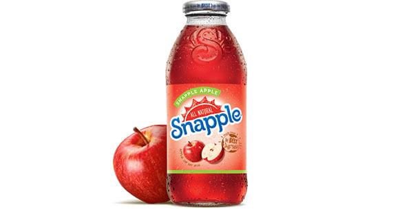 Snapple Apple Juice Drink   Snapple