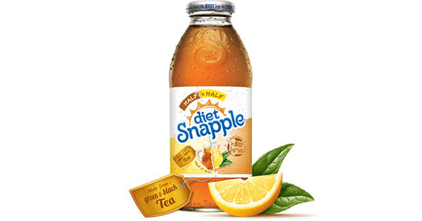 what does diet snapple do to your body