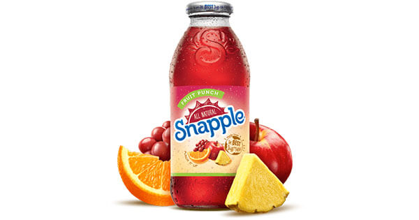 Fruit Punch Juice Drink   Snapple