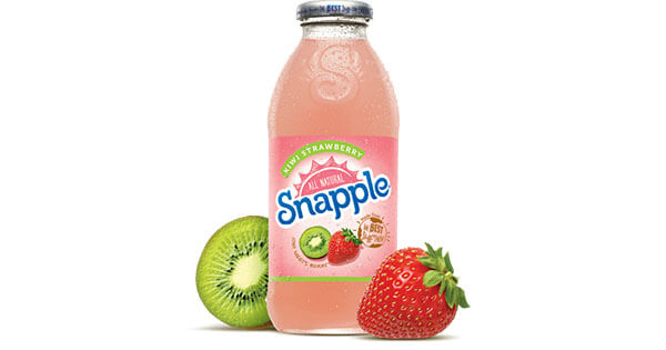 Kiwi Strawberry Juice Drink   Snapple